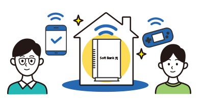 SoftBank 光Wi-Fi
